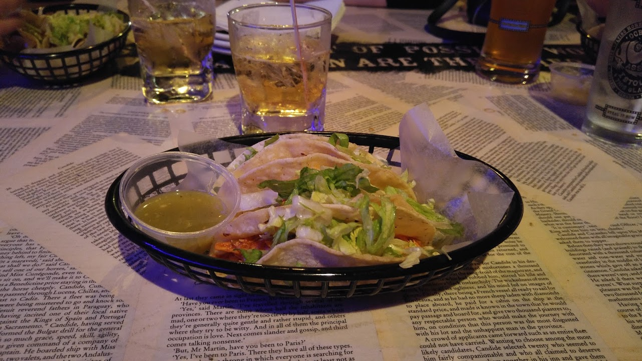 El Vato's Authentic Mexican Cuisine @ The Orwell Public House